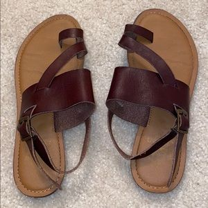Size 8 Brown Sandals